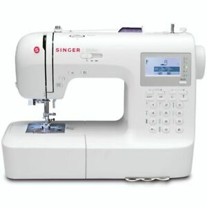 Singer Machine à Coudre Stylist Blanc Ménage Couture Réparation Vêtement