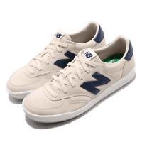 New Balance CRT300WA D Beige Navy Suede Men Vintage Running Shoes CRT300WAD