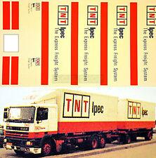 DAF TNT Ipec Express Freight System (DK) 1:87 Truck Decal LKW Abziehbild