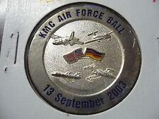 "Challenge Coin USAF KMC Air Force Ball 1903-2003 13Sep2003 Centennial 1.58"" 117"