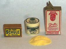"""1:6 scale WW II German Field Kitchen supplies set """"D"""""""