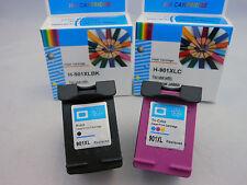 HP 901XL Black & 901 Color Ink Cartridge for HP Officejet J4500 J4660 J4680 -2Pk