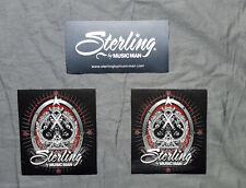 Ernie Ball Sterling Guitars by Music Man 3 Sticker Set