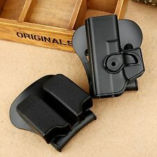 Tactical Retention Roto Pistol Holster &Double Magazine Pouch for Glock 17