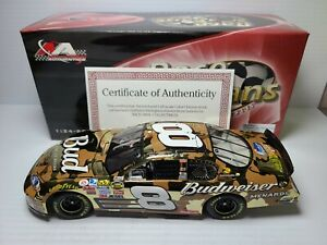 2007 Dale Earnhardt Jr #8 Bud Camo American Heroes Color Chrome 1:24 Action MIB
