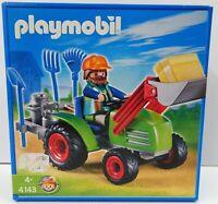 PLAYMOBIL 4143 - Multifunktions-Traktor - NEU NEW OVP