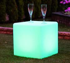 40 cm Outdoor Impermeabile Stato D'animo Cubo Sgabello-Galleggianti pool POND GARDEN LIGHT