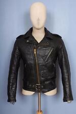 SUPERBE Vintage 70 S Schott perfecto 618 cuir en cuir Veste moto 34/36