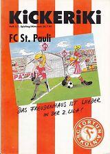II. BL 91/92 Fortuna Köln - FC St. Pauli, 24.07.1991