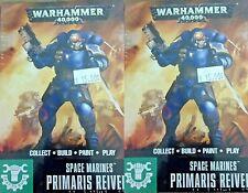 Warhammer 40000 Easy to Build 40K SPACE MARINES, 6x PRIMARIS REIVERS
