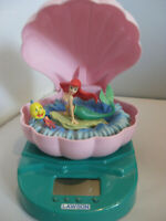 Disney On Ice  Ariel Little Mermaid Japan Lawson Store Clock Plays Under the Sea