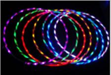 24LED lights glow in the hula hoop90cm
