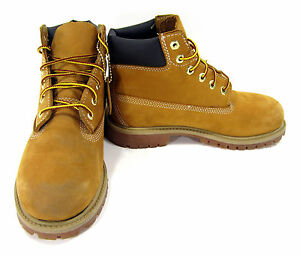 Timberland Shoes 6 Inch Premium Juniors Wheat/Brown Sneakers Men 3 / Womens 5