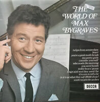 THE WORLD OF MAX BYGRAVES  1960 VINYL LP ` DECCA LABEL ~ STEREO SOUND. VGC.