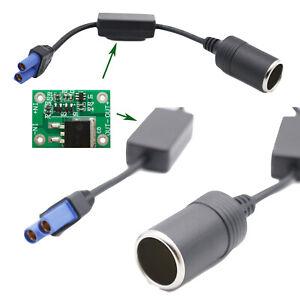 1x Cigarette Lighter To EC5 Undervoltage Protection Car Jump Starter Cable 25cm