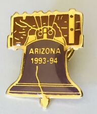 Arizona 1994 Liberty Bell America Usa Souvenir Pin Badge Vintage (G6)