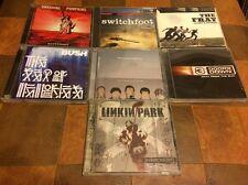 7 Cd Lot -  Alternative POP Rock Linkin Park, BUSH, 3 Doors Down, Matchbox 20