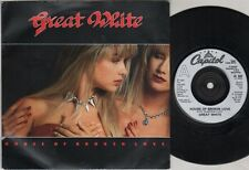 "GREAT WHITE House Of Broken Love 7"" Ps, B/W Bitches And Other Women-Medley, Cl 5"