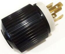 Twist Lock Electrical Plug 4 Wire, 30 Amps, 125/250V, NEMA L14-30P  - L14-30P