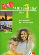 Green Line New 1 Bayern Workbook mit Lernsoftware Klett Verlag
