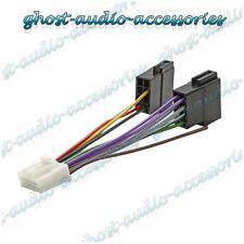 Panasonic 16 PIN Iso Adattatore Cablaggio Connettore Spina Lead Wire del cavo guaina
