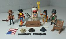 Playmobil Cowboys Indians People Figures Job Lot Bundle