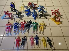 Power Rangers Lot Of 23 Pre-Owned 1990's Action Figures