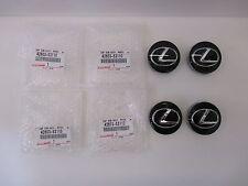 LEXUS OEM FACTORY BLACK CENTER CAP SET 42603-53110