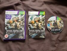 STEEL BATTALION HEAVY ARMOR Microsoft Xbox 360 Game