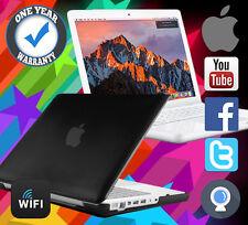 REFURBISHED MACBOOK APPLE POWERFUL 1TB HDD 8GB RAM 4.5GHZ A1342 MAC SIERRA BLACK