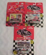 John Andretti #37 K-Mart Ford,#14 Kanawha Chevy Loy Allen #19 Hooters Ford