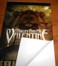 Bullet For my Valentine Scream Aim Fire Poster 2008 Promo 17x11 Window Cling
