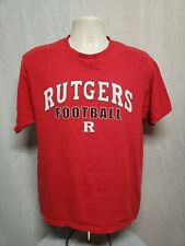 Rutgers University Football Adult Large Red TShirt