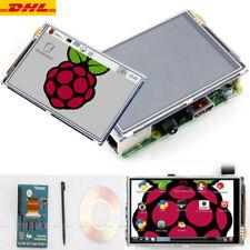 "3,5 "" LCD Touch Screen Display Monitor Hülle+Kühlkörper für Raspberry Pi 3 DE 02"