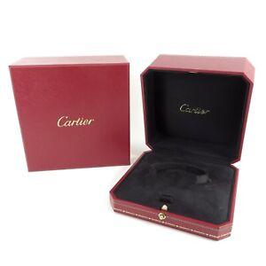GENUINE CARTIER WATCH BRACELET BANGLE JEWELLERY BOX RED LOVE JUSTE UN CLOU