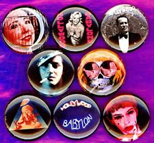 Kenneth Anger 8 NEW 1 inch pins buttons badges hollywood babylon scorpio rising