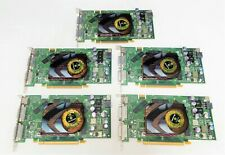 Qty 5 Dell T9099 NVidia Quadro FX 3450 256MB S-Video Dual DVI PCIe Video Graphic