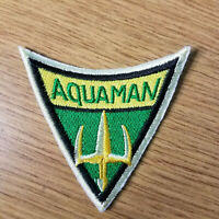 Aquaman Shield Logo Patch 3 inches tall