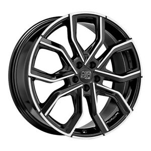 JANTES ROUES MSW 41 PORSCHE CAYENNE TURBO Staggered 92A-92AN 9x20 5x130 ET 5 982