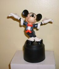 WDCC Disney Symphony Hour Mickey Conductor Maestro Michel Mouse with Box COA