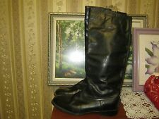 New Russian Soviet Military Army Officer Leather Riding Boots Size 44 US 10.5