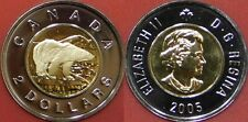 Proof Like 2005 Canada 2 Dollars From Mint's Set