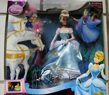 Disney Princess Cinderella Porcelain Doll Classic Movie Memories Collection Box