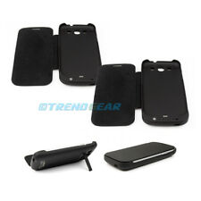 2X 3200MAH EXTERNAL BACKUP BATTERY POWER BANK CASE COVER BLACK SAMSUNG GALAXY S3