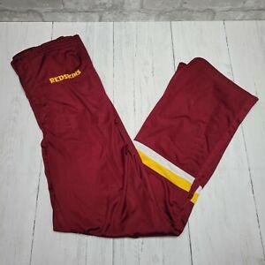 Vintage Washington Redskins NFL Starter Track Sweatpants Mens Size Medium Red