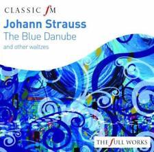 Johann Strauss: The Blue Danube - Willi Boskovsky Vienna Philharmonic  (NEW CD)