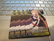 Weiss Schwarz Precise Battle Orders, Asuna x4 English SAO/S51-PE02 Promo