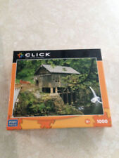 Click Mega Puzzle Jigsaw Puzzle 1000 Covered Bridge   NEW