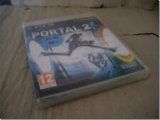 PORTAL 2 ps3 UK RELEASE NEW FACTORY SEALED with TEARSTRIP RARE