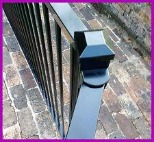 Certified Black or Primrose Pool Fence Flat Top. We install